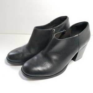 Bass Womens Leather Ankle Boots